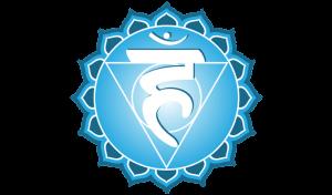 Símbol del cinquè chakra o chakra laringi