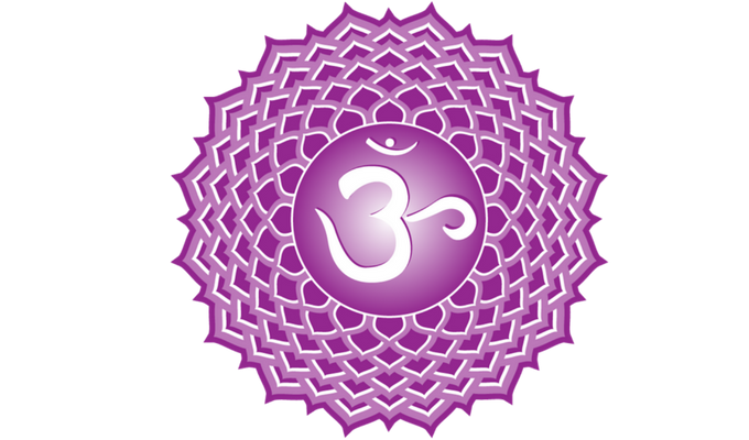 Símbol del setè chakra o chakra corona